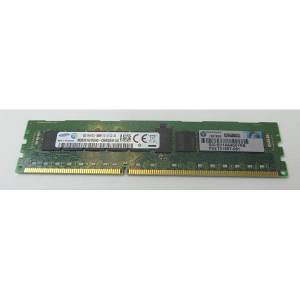 Memorie server HP 8GB 1RX4 PC3-14900R-13-12-C2-D3 731657-081